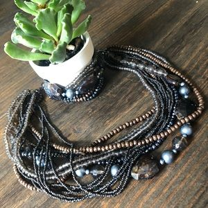 🔘Trendy necklace & matching bracelet combo set🔘